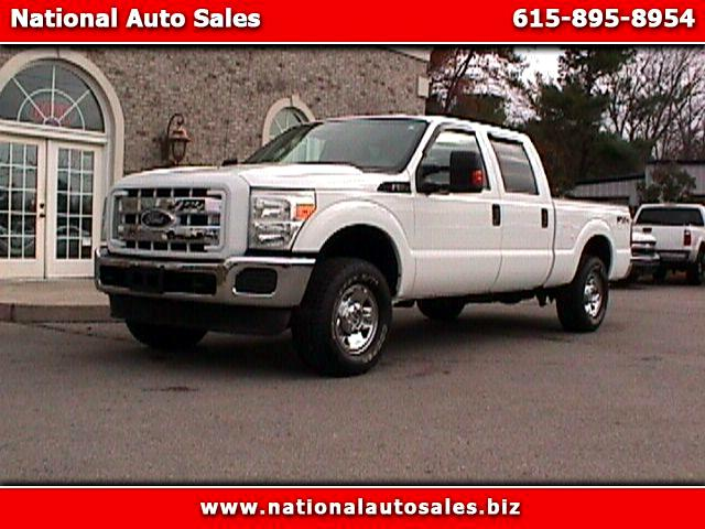 2011 Ford F-250 SD XL Crew Cab Short Bed 4WD