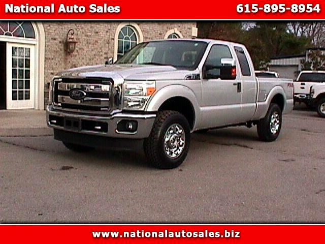 2012 Ford F-250 SD XLT SuperCab Short Bed 4WD FX4