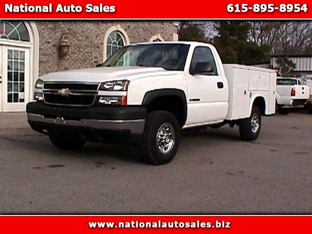 2007 Chevrolet Silverado Classic 2500HD Work Truck LB Utility 4WD Duramax