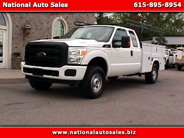 2012 Ford F-250 SD XL SuperCab Long Bed 4WD Utility