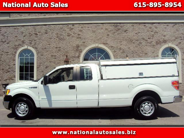 2013 Ford F-150 2WD EXTENDED CAB XL 8 FT. BED
