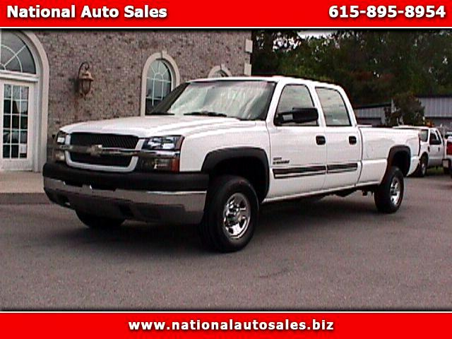 2004 Chevrolet Silverado 2500HD Work Truck Duramax Crew Cab Long Bed 2WD