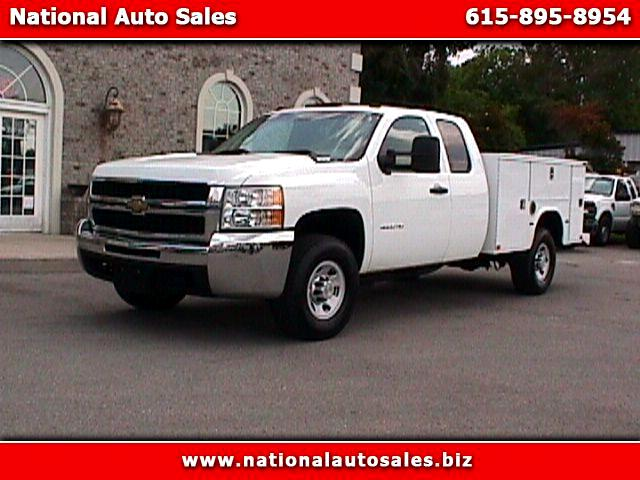 2010 Chevrolet Silverado 3500HD Work Truck Ext Cab 2WD Utility