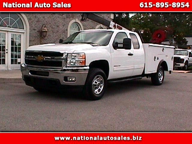2011 Chevrolet Silverado 3500HD LT Ext Cab Long Bed 4WD Utility