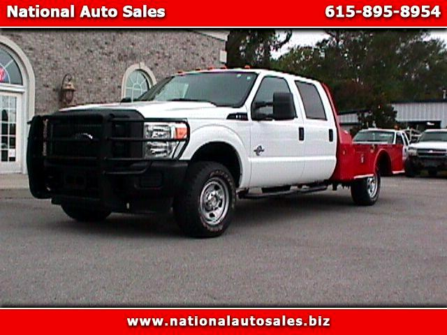 2011 Ford F-350 SD XL Crew Cab 4WD Flat Bed