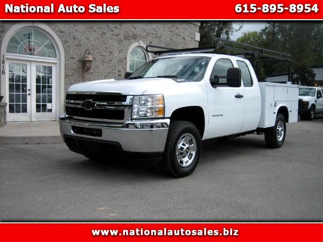 2011 Chevrolet Silverado 2500HD Work Truck Ext Cab Utility 4WD