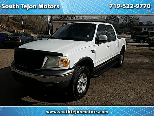 "2002 Ford F-150 4WD SuperCrew 139"" XLT"
