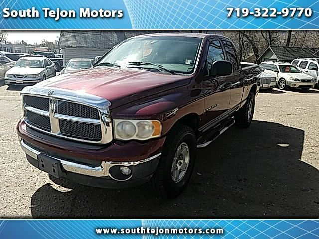 2002 Dodge Ram 1500 ST Quad Cab Short Bed 4WD