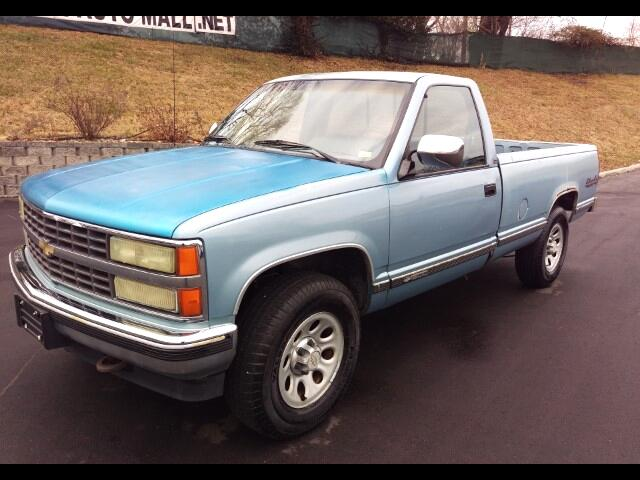 1991 Chevrolet C/K 1500 Reg. Cab W/T 8-ft. Bed 4WD