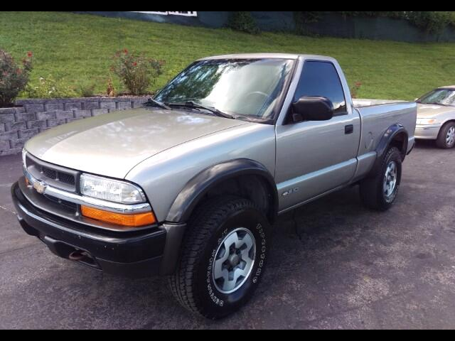 1999 Chevrolet S10 Pickup Short Bed 4WD