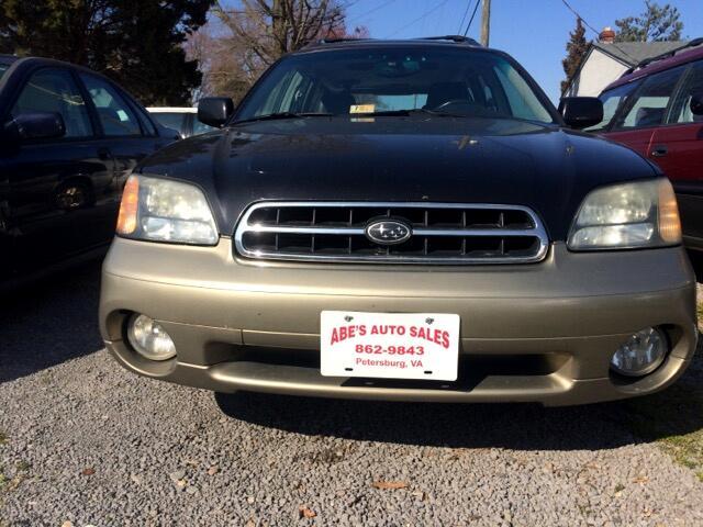 2002 Subaru Legacy Outback Limited