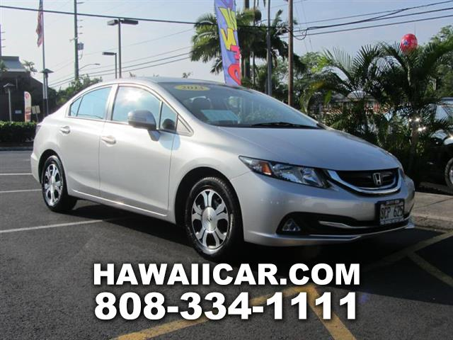 2013 Honda Civic Hybrid CVT AT-PZEV with Navigation