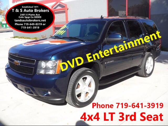 2007 Chevrolet Tahoe LT 4x4 3RD SEAT ENTERTAINMENT