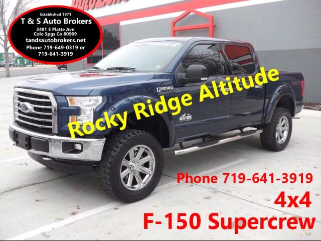 2015 Ford F-150 1-Owner Rocky Ridge Altitude