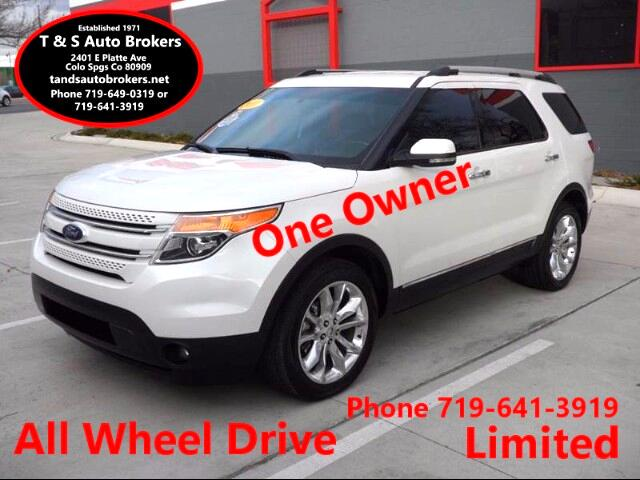 2011 Ford Explorer ONE OWNER LIMITED AWD