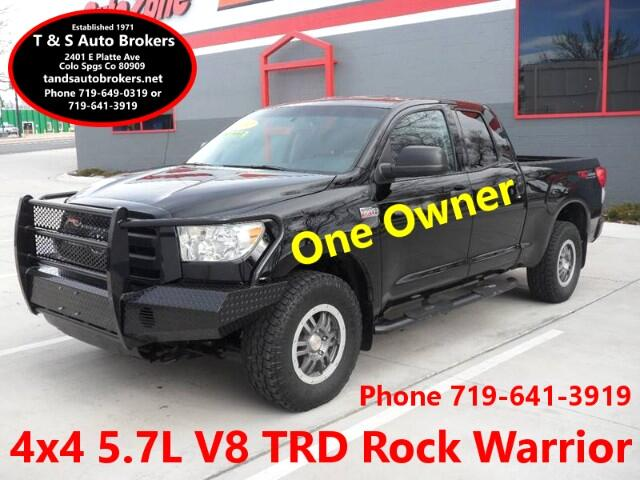 2012 Toyota Tundra ONE-OWNER ROCK WARRIOR DBL CAB 4X4
