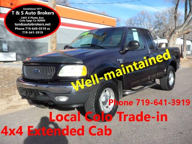 2001 Ford F-150 XLT 4X4 EXTENDED CAB