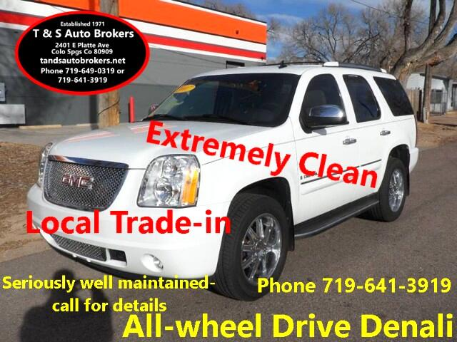 2007 GMC Yukon Denali ALL-WHEEL DRIVE EXCEPTIONAL COND LOCAL TRADE-IN