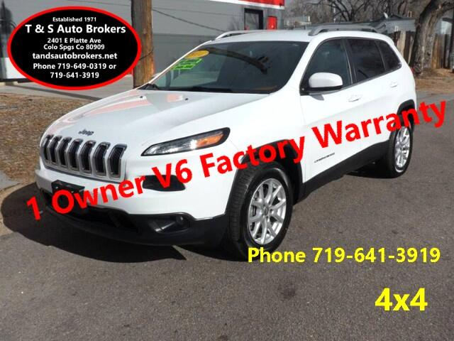 2014 Jeep Cherokee 1-OWNER LATITUDE 4X4