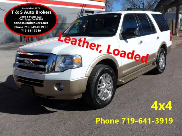 2011 Ford Expedition 4x4 XLT LEATHER AND LOADED