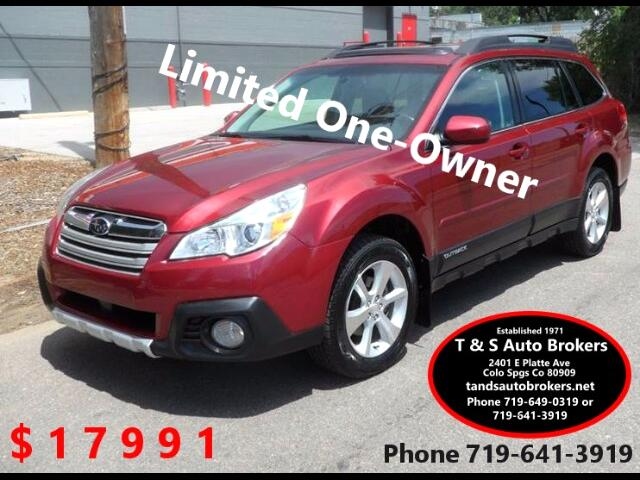 2013 Subaru Outback 1-OWNER 2.5i Limited AWD