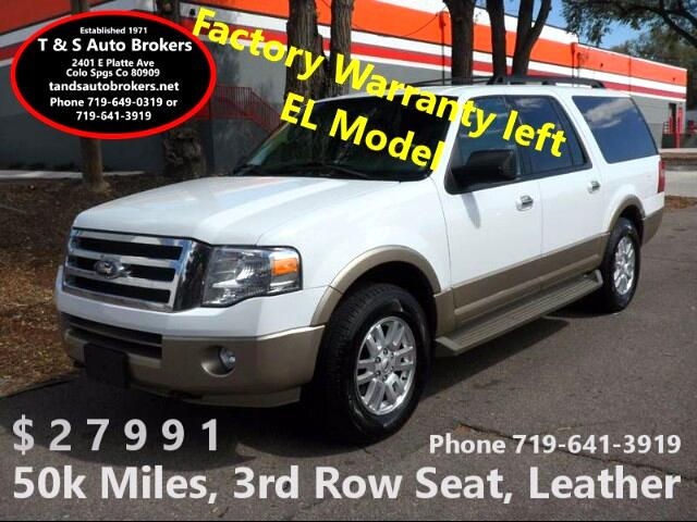 2013 Ford Expedition EL XLT 4X4 LEATHER