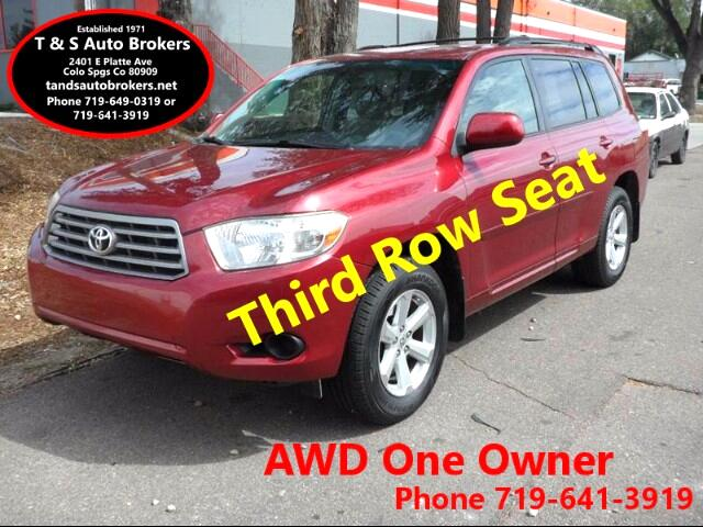 2009 Toyota Highlander 1-OWNER AWD 3RD ROW SEAT