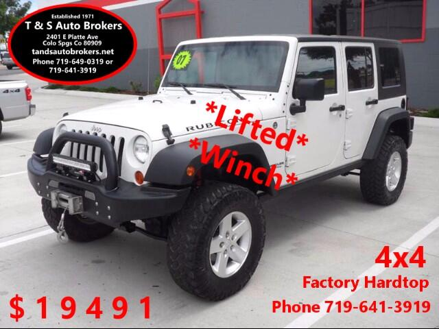 2007 Jeep Wrangler *Lifted* *Winch* Rubicon 4x4