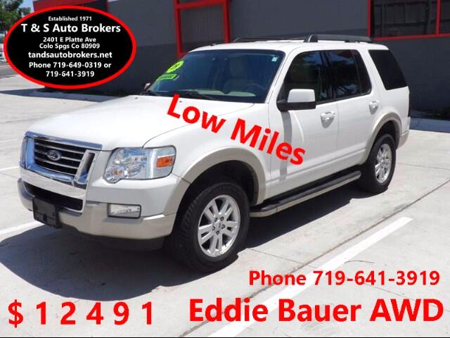2009 Ford Explorer Eddie Bauer AWD LOW MILES