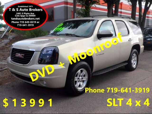 2007 GMC Yukon SLT 4x4 Moonroof DVD