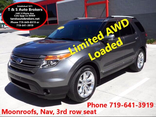 2012 Ford Explorer Limited AWD Loaded