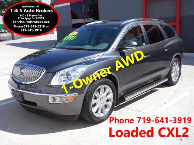 2011 Buick Enclave 1-OwnerCXL 2 AWD 4dr Crossover w/2XL
