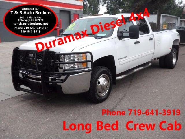2009 Chevrolet Silverado 3500HD 4x4 Diesel Long Bed DRW