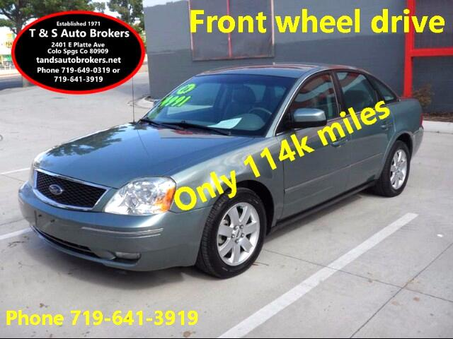 2006 Ford Five Hundred SEL SEDAN LEATHER LOW MILES