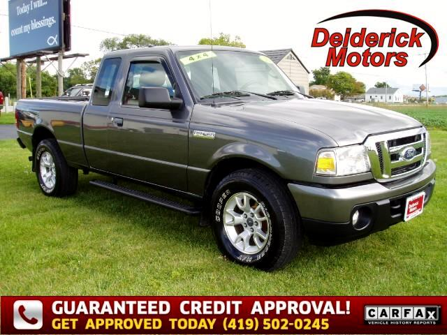 2010 Ford Ranger XLT SuperCab 4-Door 4WD