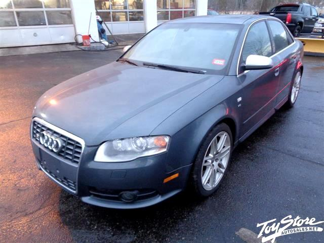 2008 Audi S4 Sport Sedan with Tiptronic