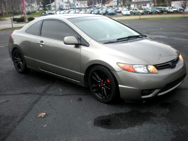 2008 Honda Civic EX Coupe 5-Speed MT