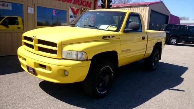 1999 Dodge Ram 1500 Reg. Cab Short Bed 4WD