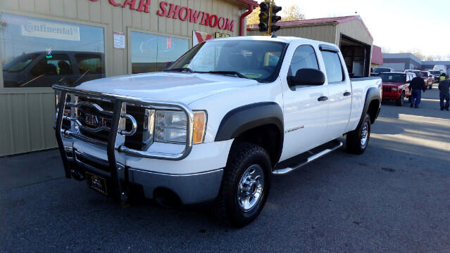 2007 GMC Sierra 2500HD SLE Crew Cab Short Bed 4WD
