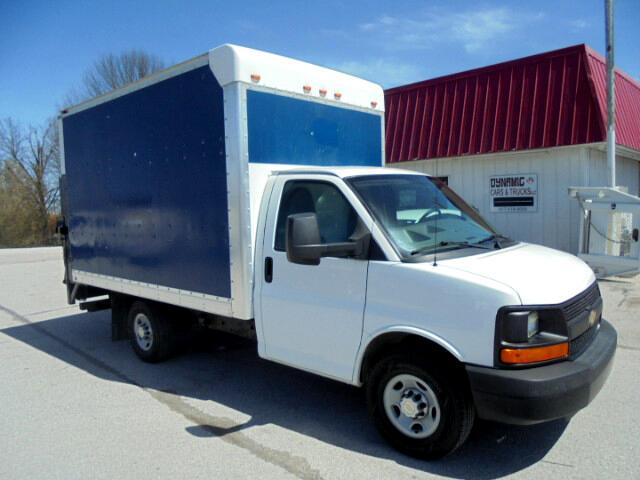 2014 Chevrolet Express G3500 14 Ft. Box truck w/ electric Lift gate