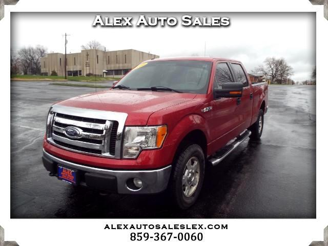2010 Ford F-150 XLT SuperCrew 5.5-ft. Bed 4WD