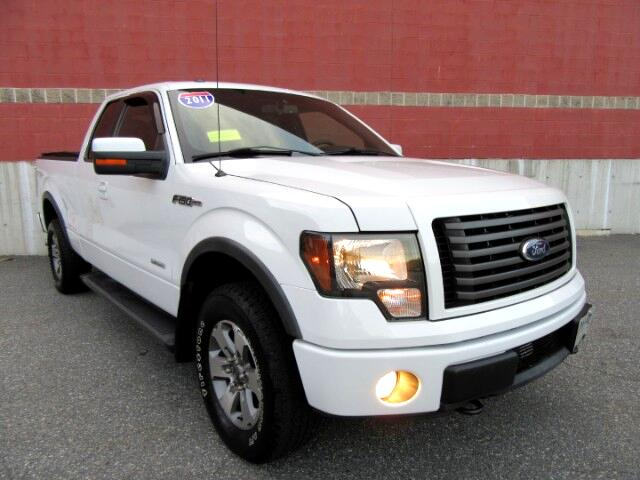 2011 Ford F-150 FX4 SuperCab 6.5-ft Bed 4WD Leather