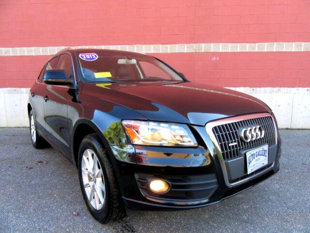 2012 Audi Q5 2.0 Quattro Premium Plus Navigation Backup