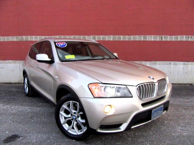 2011 BMW X3 xDrive35i Navigation