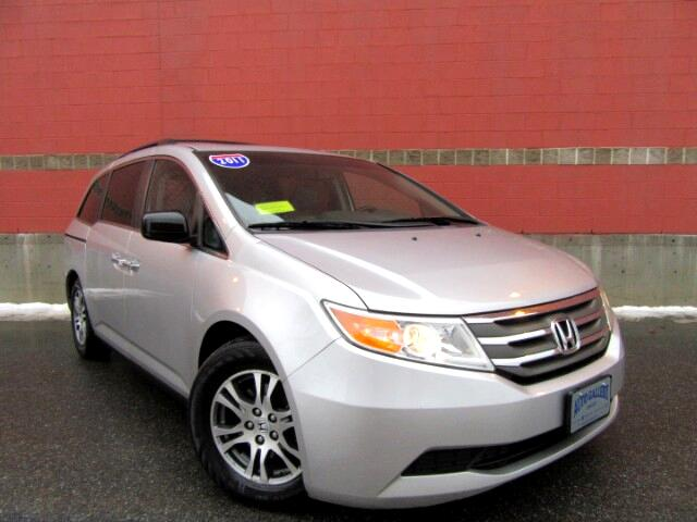 2011 Honda Odyssey EX-L w/Navigation Backup Camera Leather 8 Seating