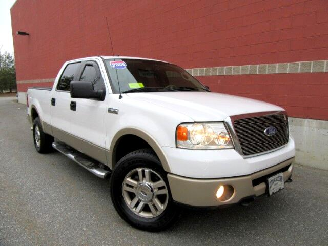 2008 Ford F-150 LARIAT SUPERCREW 4WD LEATHER MOON ROOF