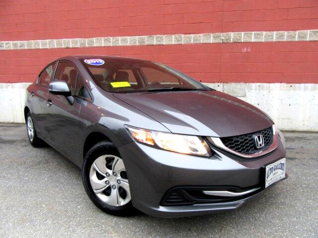 2013 Honda Civic LX Sedan AT Backup Camera