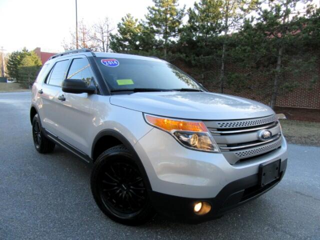 2014 Ford Explorer 4WD LEATHER 3 RD ROW SEATING