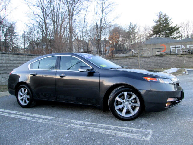 2013 Acura TL 6-Speed AT with Tech Package Navigation