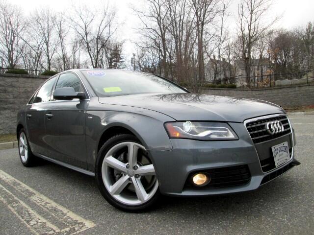 2012 Audi A4 2.0 T Sedan Premium Plus Quattro Navigation